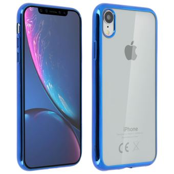 iphone xr coque bleu
