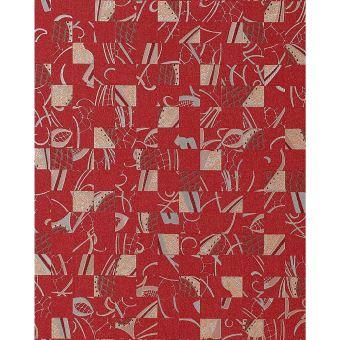 Papier Peint Design Abstrait Effet Textil Collage Edem 745 25