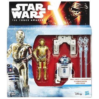 9 figurines star wars