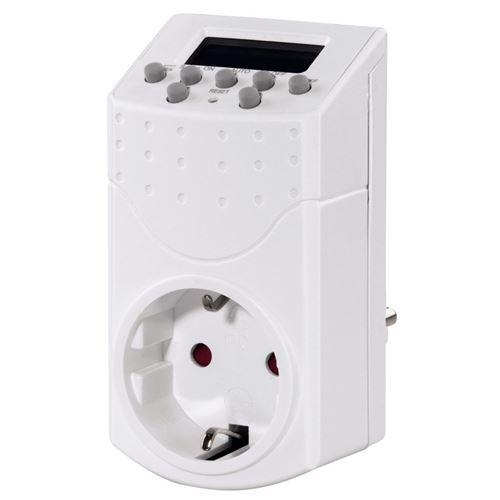 Hama 00121951 Prises électriques - mini - Prises de courant (230V), Blanc