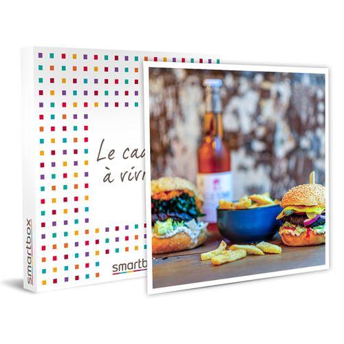 SMARTBOX - Savoureux repas Menu Vegan 2 Plats avec boissons - Coffret Cadeau