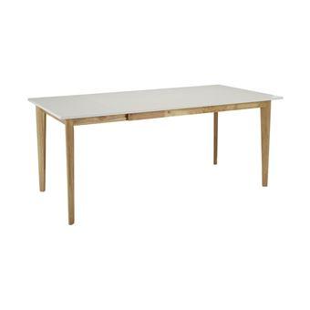 extensible Table manger 6 Hévéa à à CARINE 8 couverts sQthrd