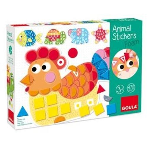 Apprendre les couleurs et les formes + animaux Goula