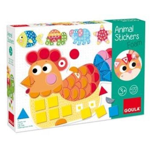 Jeu Alpexe Apprendre les couleurs et les formes les animaux Goula