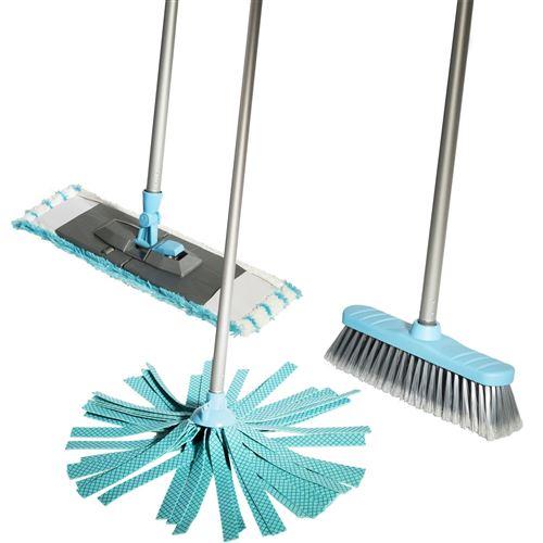 Lifetime Clean kit de nettoyage 120 cm bleu 5 pièces