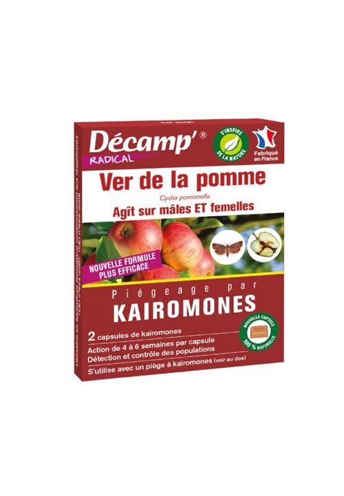 kairomone contre le ver de la pomme