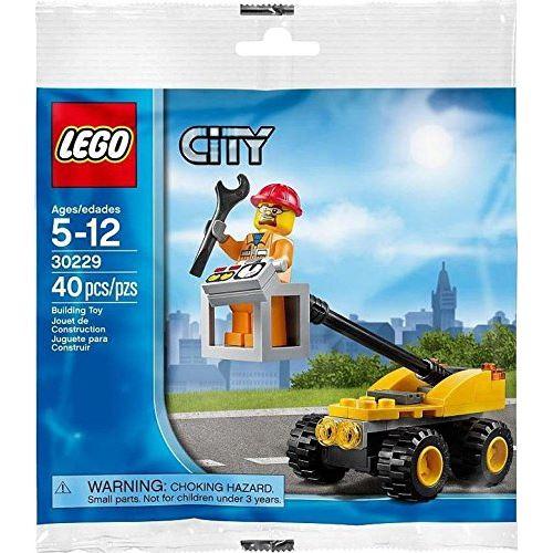 Lego City, Kit de levage de réparation en sac (30229)