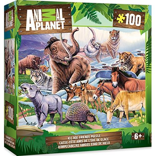 MasterPieces Animal Planet Ice Age Friends - 100 Piece Kids Puzzle