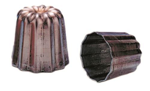 Moule a canele cuivre diam 3,5 cm
