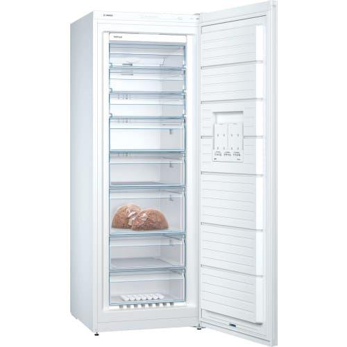 Bosch Serie 4 GSN58VWEV - Congélateur - congélateur-armoire - pose libre - largeur : 70 cm - profondeur : 78 cm - hauteur : 191 cm - 365 litres - Classe A++ - blanc