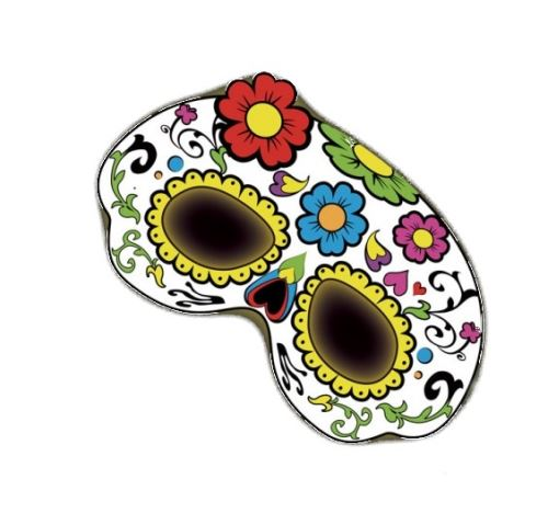 Amscan masque brillent dans les fleurs sombres