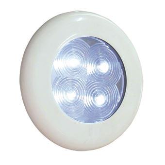Lampe De Plafond à Led Lumière Rouge Embase Inox Accessoires De