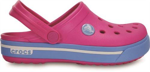 Crocs crocband ii.5 enfants clogs <strong>chaussures</strong> sandales en neon magenta bleubell 12837 6fg