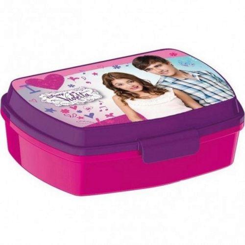 Boite A Gouter Violetta Lunch Box Rose Violet Boite Dejeuner