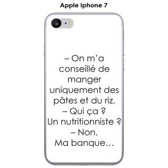 coque texte iphone 7