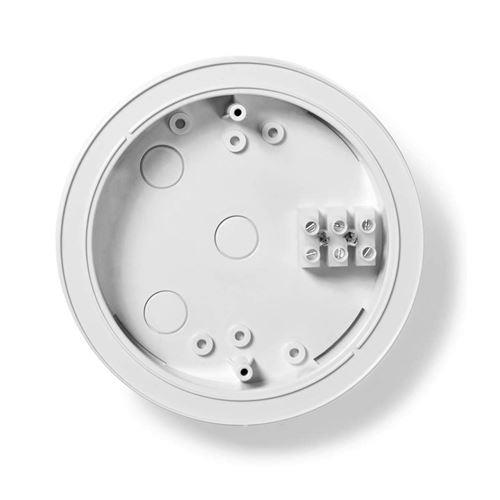 NEDIS DTCTBR20 Support pour Détecteur, pour Détecteurs de 280 mm de Diamètre, Ajoute Une Hauteur DE 20 mm