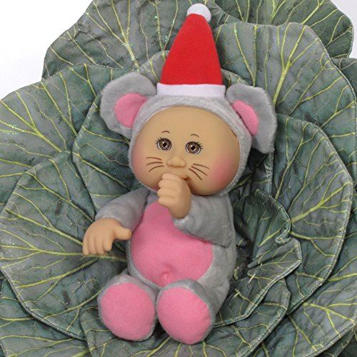 Cabbage Holiday Patch Cuties - Christmas Mouse