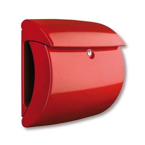 BURG-WÄCHTER Boîte aux lettres Piano 886 R Plastique Rouge