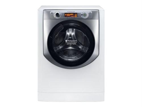 Hotpoint Ariston Aqualtis AQ114D 69D EU/A - Machine à laver - indépendant - largeur : 59.5 cm - profondeur : 61.6 cm - hauteur : 85 cm - chargement frontal - 71 litres - 11 kg - 1600 tours/min - blanc/tinane