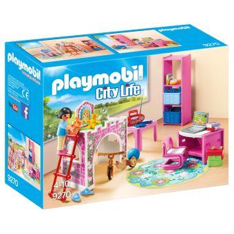 Attrayant Playmobil City Life 9270 Chambre Du0027enfant