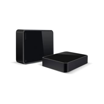 "Toshiba Canvio for Desktop - Vaste schijf - 5 TB - extern (bureaublad) - 3.5"" - USB 3.0 - glanzende piano"