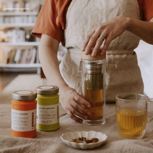 Cure thés verts bio duo éclat