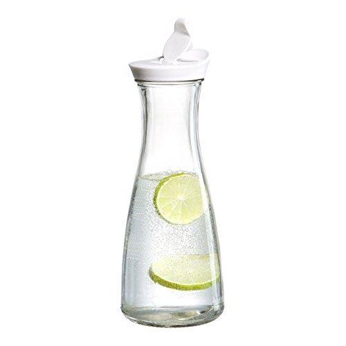 Ritzenhoff & breker bouteille avec bec verseur lido, bouteille en verre, carafe, carafe en verre, 900 ml, 669435