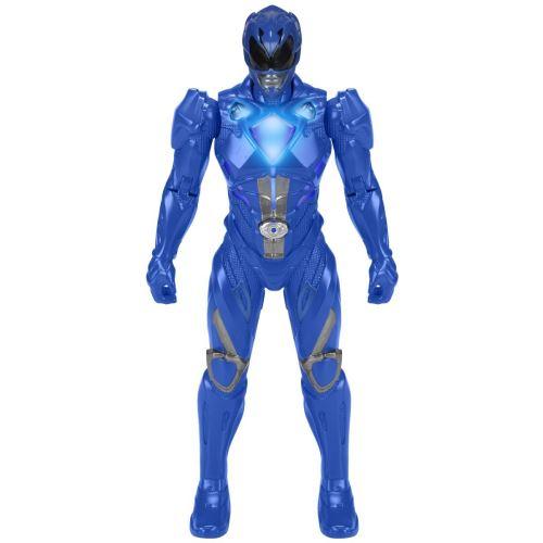 Bandai 42652 Figurine à fonction lumineuse Power Rangers Ranger Bleu 18 cm