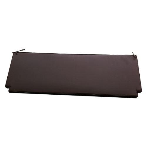Coussin chocolat pour banc 130 cm