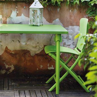 Salon de jardin coloré & design zic zac spring nardi - Mobilier de ...