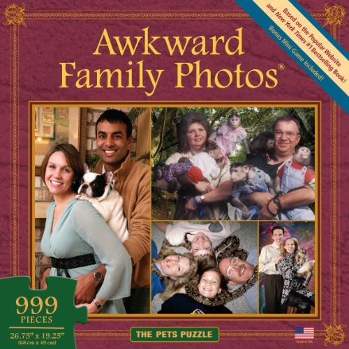 All Things Equal, Inc. Awkward Family Photos Pets Puzzle