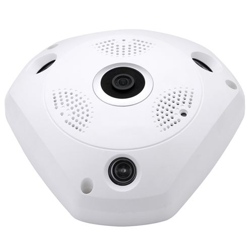 Caméra Surveillance Ip Infrarouge Android iOs 1.3 Mp HD Vidéo H.264 Blanc - YONIS
