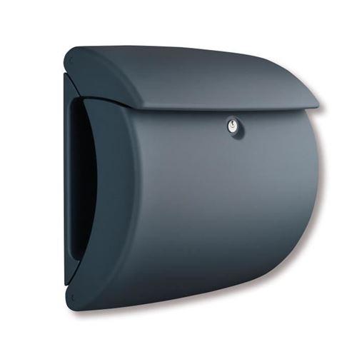 BURG-WÄCHTER Boîte aux lettres Pearl 886 GR Plastique Granite