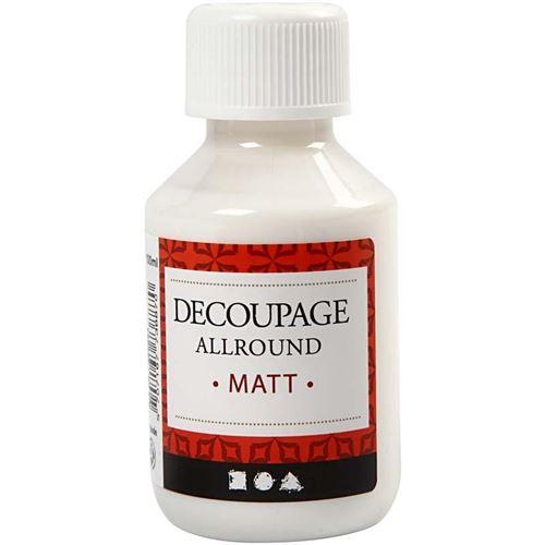 Creotime vernis de découpage à la colle mat 100 ml