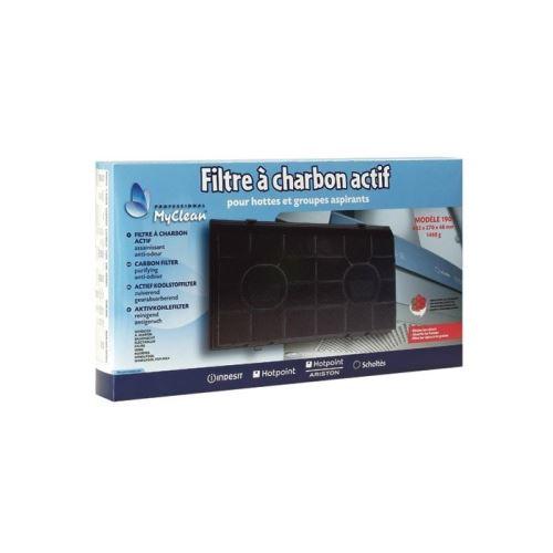 190 filtre a charbon (485x258x48mm) pour hotte indesit - 9633907