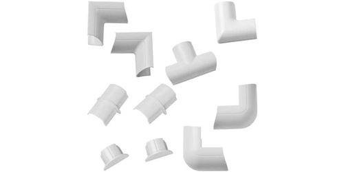 D-Line Pack de Connecteurs Multiples pour Trunk 30/15 Blanc