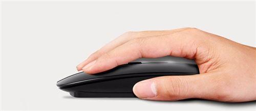 Souris sans Fil Rechargeable, ultra Mince et silencieuse. Compatible avec votre ordinateur portable, PC et Mac.  Souris sans fil haute qualité 2,4 GHz rechargeable.  Fiable, facile d'utilisation (plug & play) et confortable, cette souris sans fil et aussi