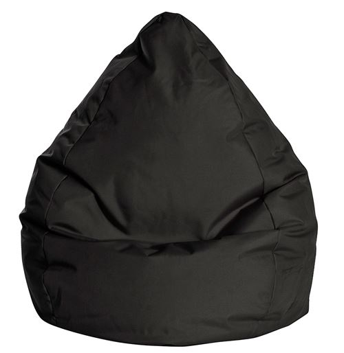 Pouf Poire Brava XL Noir