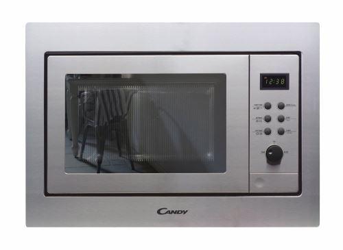 Candy Mic 211 ex micro-ondes avec grill, 800 W, 21 Liters, gris [Classe énergétique A]