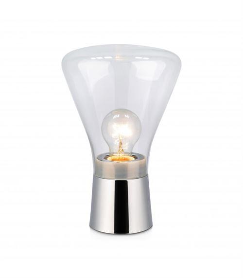 Lampe de table JACK chromée 1 ampoule