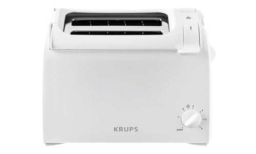 Krups ProAroma KH 1511 - Grille-pain - 2 tranche - 2 Emplacements - blanc