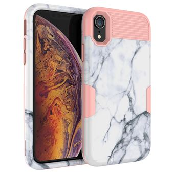 coque silicone iphone xr marbre