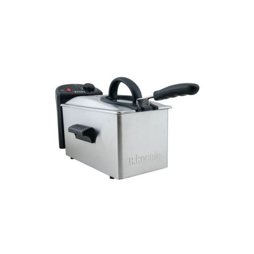 H.KOENIG DFX300 Friteuse électrique 3L Inox