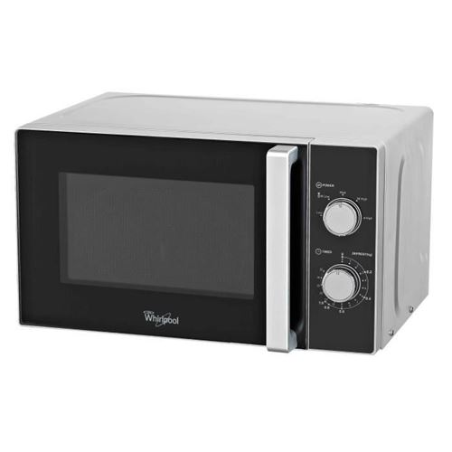 Whirlpool MWO 618 SL - Four micro-ondes grill - pose libre - 20 litres - 800 Watt - argent