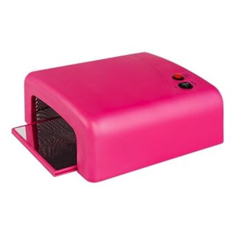 Lampe Uv Professionnelle Pour Manucure Ongle Herstelle 36w Rose