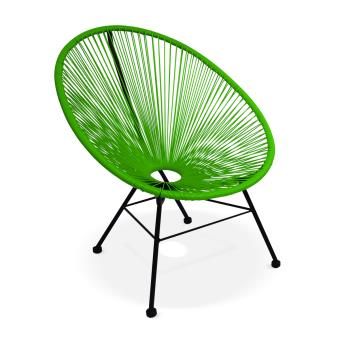 fauteuil acapulco chaise oeuf design vert alice 39 s garden. Black Bedroom Furniture Sets. Home Design Ideas