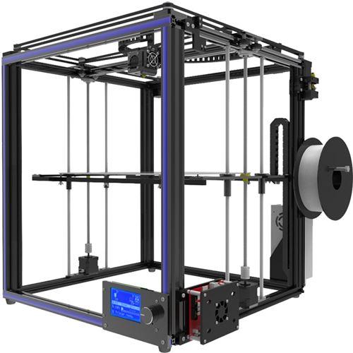 Tronxy X5S Trousse d'imprimante 3D à cadre métallique haute précision de qualité industrielle