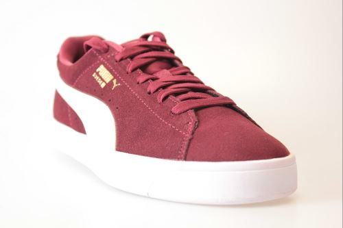 Chaussures Femme Puma Suede S Bordeaux Taille 36