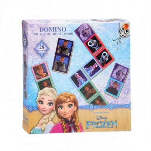 Disney Domino Frosse bois 28 pierres