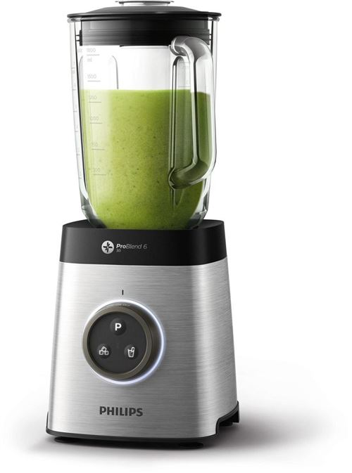 Philips Avance Collection Blender HR3652/00 Blender en métal avec LED Noir 2 l 35 000 tours/min